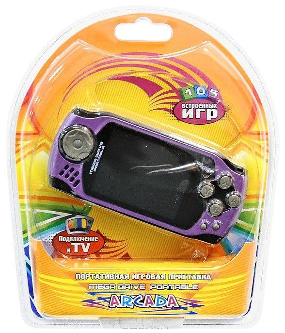Игровая консоль  Arcada, фиолетовый
