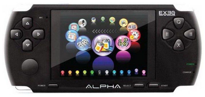 Игровая консоль  Exeq Alpha, черный