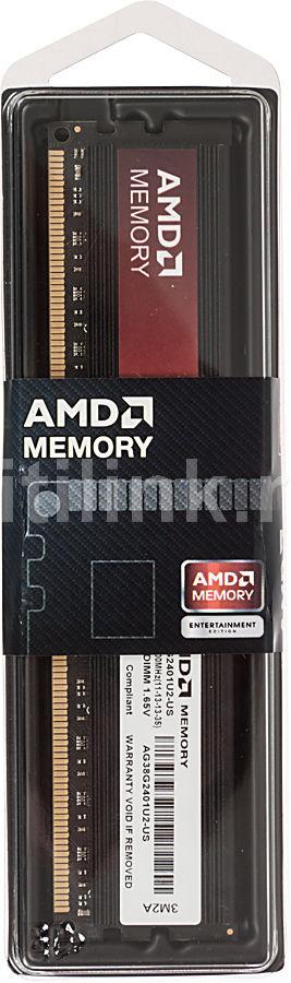 Модуль памяти AMD (AG)R938G2401U2S DDR3 -  8Гб 2400, DIMM,  Ret