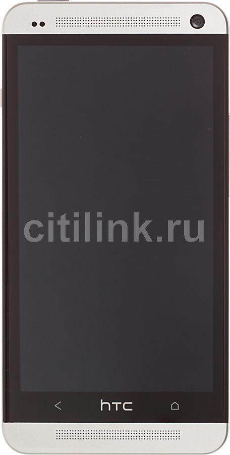 Смартфон HTC One Dual Sim серебристый