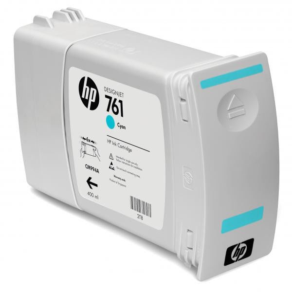 Тройная упаковка картриджей HP 761 CR272A,  голубой