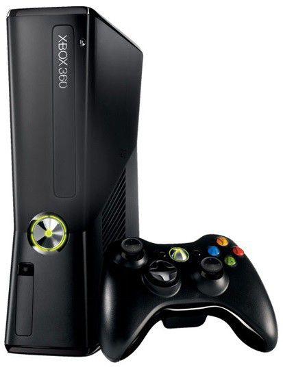 Игровая консоль MICROSOFT Xbox 360 S4G-00014, черный