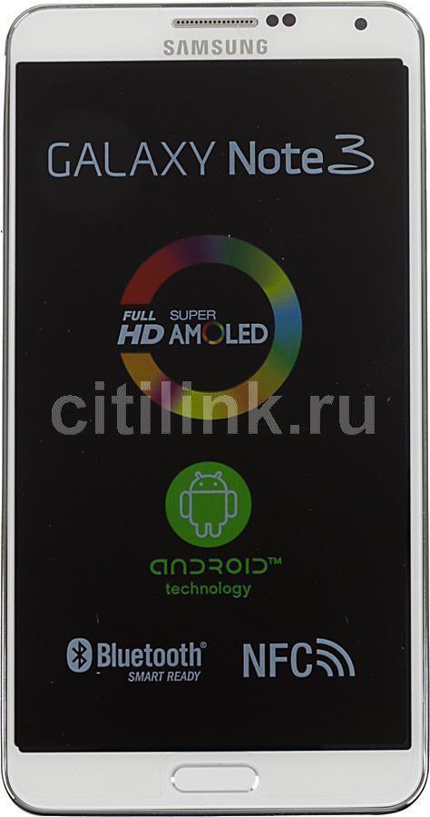 Смартфон SAMSUNG Galaxy Note 3 SM-N9000  32Gb, белый