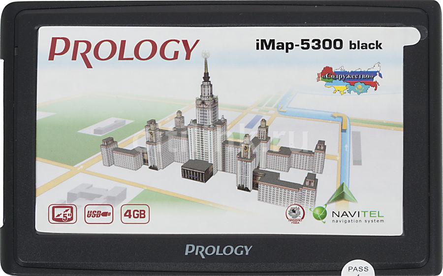 GPS навигатор PROLOGY iMAP-5300,  5