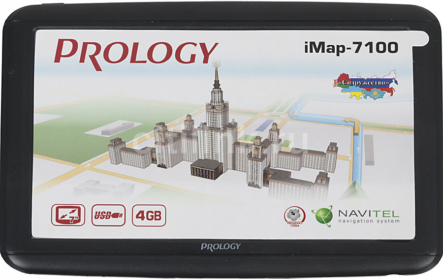 GPS навигатор PROLOGY iMAP-7100,  7