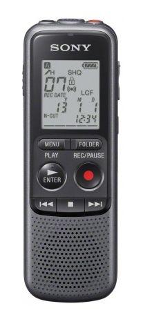 Диктофон SONY ICDPX232.CE7 2 Gb,  черный