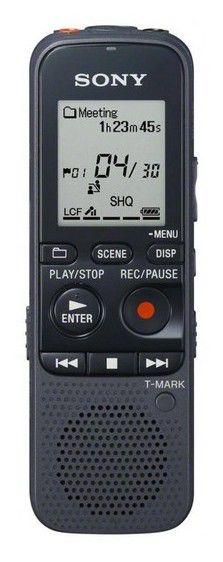 Диктофон SONY ICDPX333.CE7 4 Gb,  черный