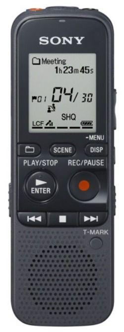 Диктофон SONY ICDPX333M.CE7 4 Gb,  черный