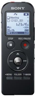 Диктофон SONY ICDUX533B.CE7 4 Gb,  черный