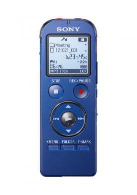Диктофон SONY ICDUX533L.CE7 4 Gb,  синий
