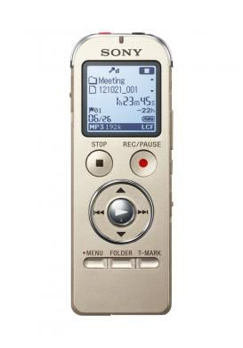 Диктофон SONY ICDUX533N.CE7 4 Gb,  золото