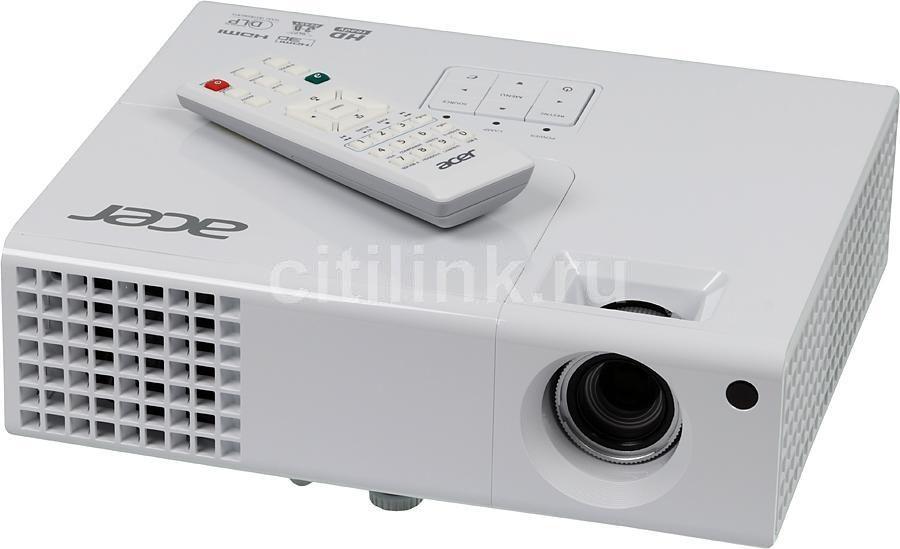 Проектор ACER P1341W белый [mr.jgu11.001]