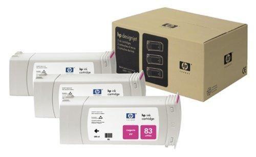 Тройная упаковка картриджей HP C5068A пурпурный