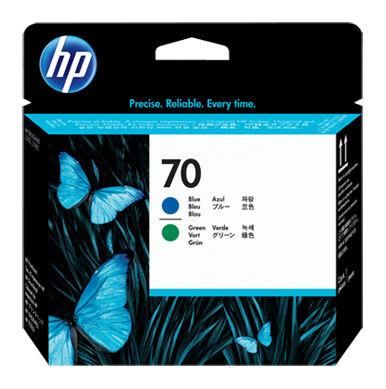 Печатающая головка HP C9408A зеленый / голубой