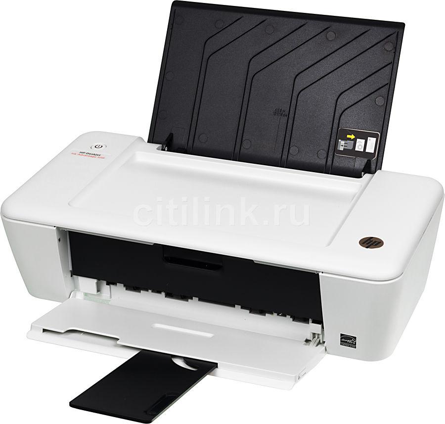 Принтер HP DeskJet Ink Advantage 1015,  струйный, цвет: белый [b2g79c]
