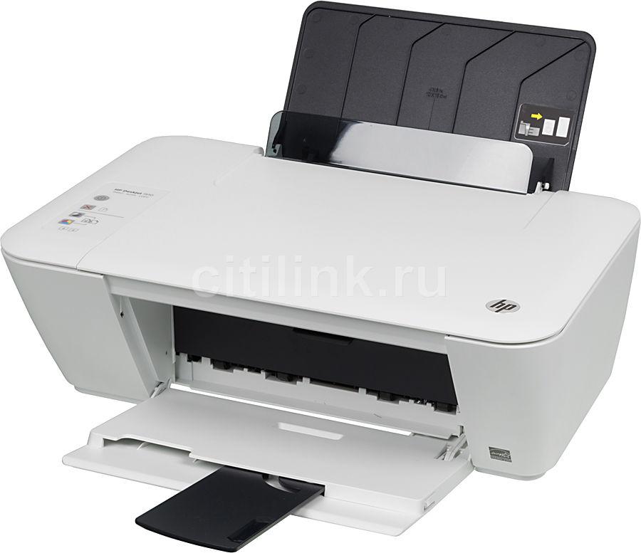 МФУ HP DeskJet 1510 AiO, A4, цветной, струйный, белый [b2l56c]