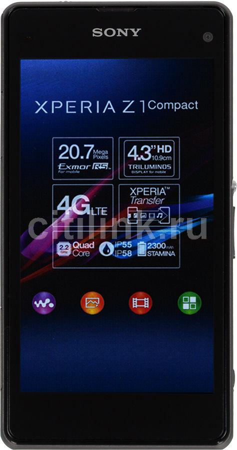 Смартфон SONY Xperia Z1 Compact D5503  черный