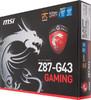 Материнская плата MSI Z87-G43 GAMING LGA 1150, ATX, Ret вид 8