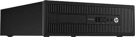 Компьютер  HP EliteDesk 800 G1 SFF,  Intel  Core i5  4570,  DDR3 4Гб, 500Гб,  Intel HD Graphics 4600,  DVD-RW,  Windows 7 Professional,  черный [h5u03ea]