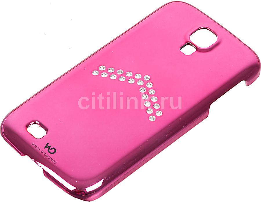 Чехол (клип-кейс) WHITE DIAMONDS Arrow, WD-2310ARR41, для Samsung Galaxy S4, розовый