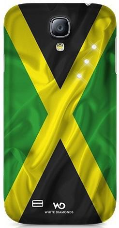 Чехол (клип-кейс) WHITE DIAMONDS Flag Jamaica, WD-2310FLA12, для Samsung Galaxy S4, зеленый