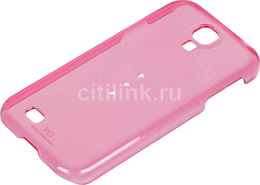 Чехол (клип-кейс) WHITE DIAMONDS Trinity, WD-2310TRI41, для Samsung Galaxy S4, розовый