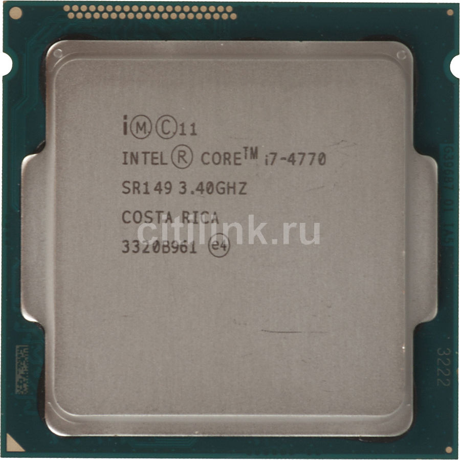 Процессор INTEL Core i7 4770, LGA 1150 OEM