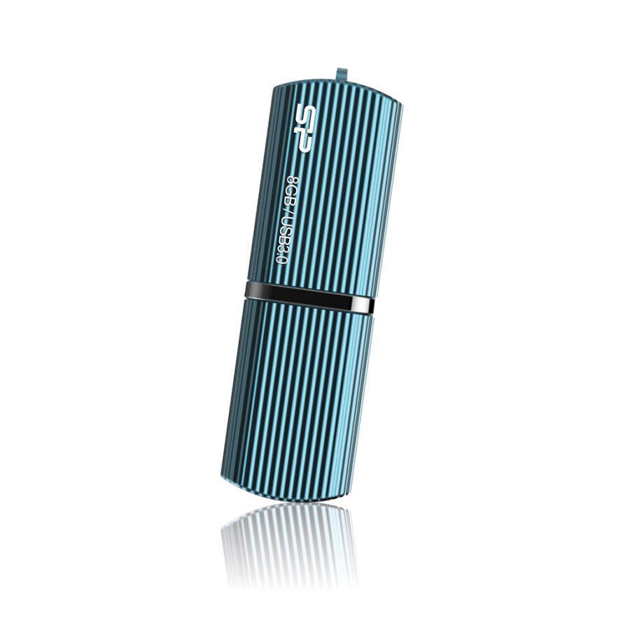 Флешка USB SILICON POWER Marvel M50 8Гб, USB3.0, голубой [sp008gbuf3m50v1b]