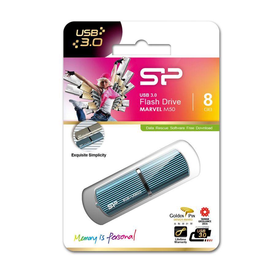 USB флешка Silicon Power Helios 101 Blue 16GB (SP016GBUF2101V1B)