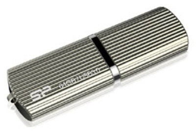 Флешка USB SILICON POWER Marvel M50 64Гб, USB3.0, золотистый [sp064gbuf3m50v1c]