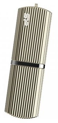 Флешка USB SILICON POWER Marvel M50 16Гб, USB3.0, золотистый [sp016gbuf3m50v1c]