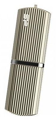Флешка USB SILICON POWER Marvel M50 32Гб, USB3.0, золотистый [sp032gbuf3m50v1c]