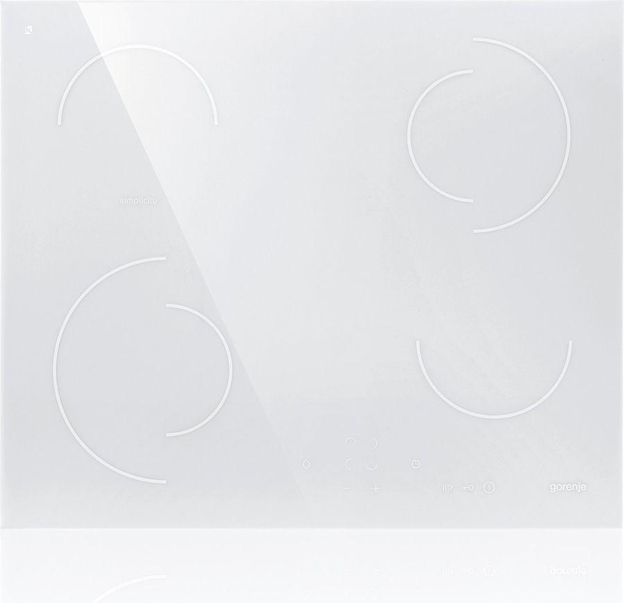 Варочная панель GORENJE ECT6SY2W,  Hi-Light,  независимая,  белый