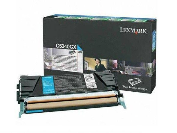 Картридж LEXMARK C5340CX голубой