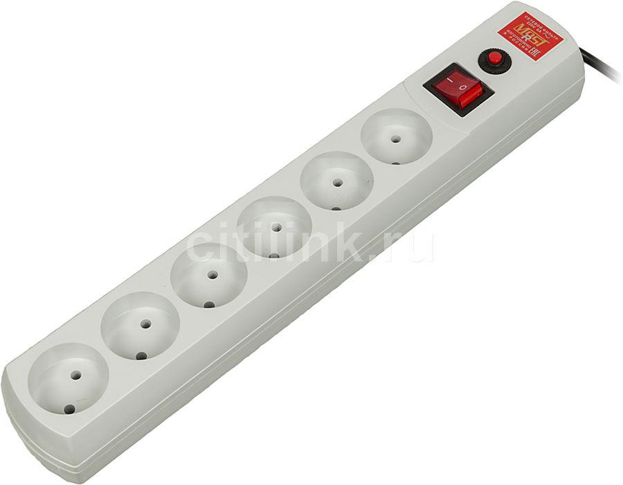 Сетевой фильтр MOST R, 10м, белый [r 6-10-б]