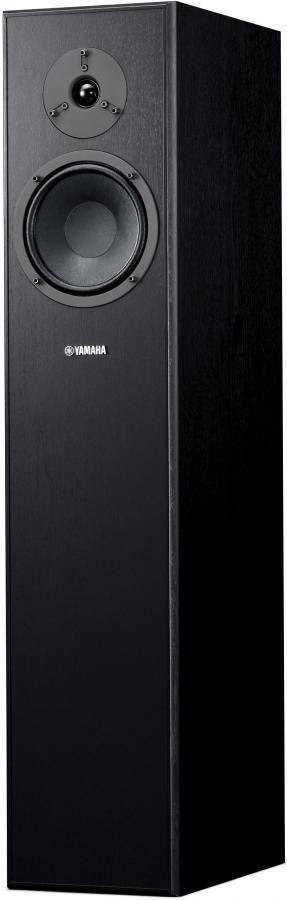 Акустическая система YAMAHA NS-F140,  моно,  черный лак