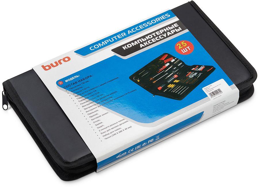 Набор инструментов BURO TC-1111,  25 предметов