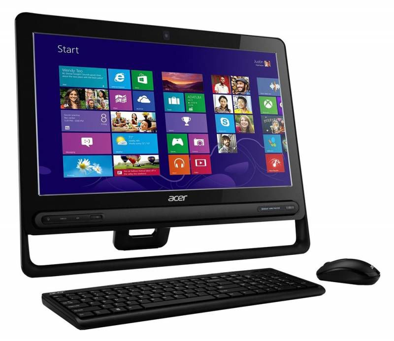 Моноблок ACER Aspire ZC-602, Intel Celeron, 4Гб, 500Гб, Intel HD Graphics, DVD-RW, Windows 8 [dq.stger.003]