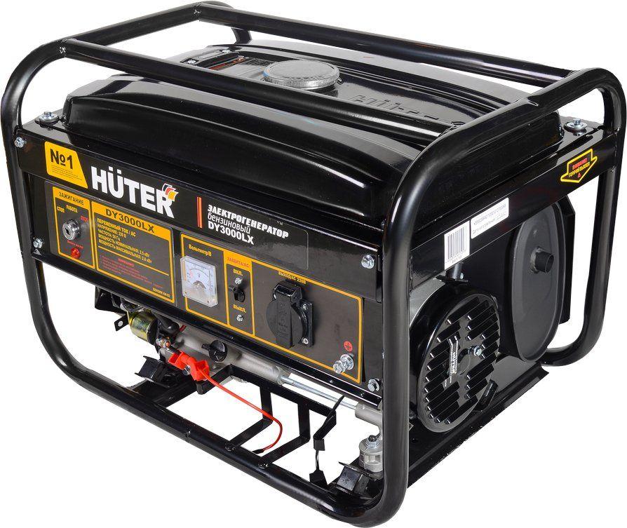 Бензиновый генератор HUTER DY3000LX,  220 В,  2.8кВт [64/1/10]