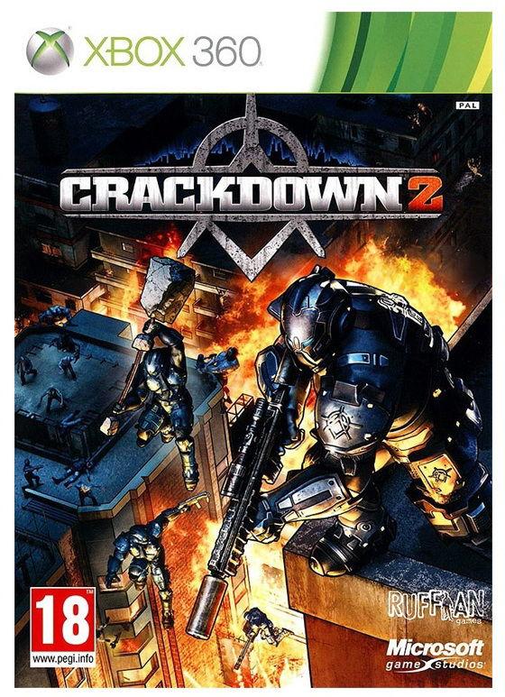 Игра MICROSOFT Crackdown 2 для  Xbox360 Rus