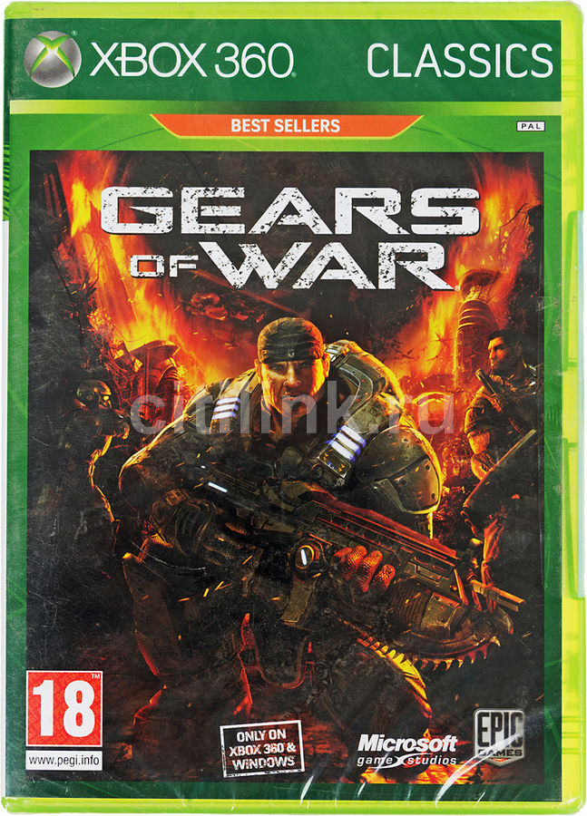 Игра MICROSOFT Gears of War для  Xbox360 Eng
