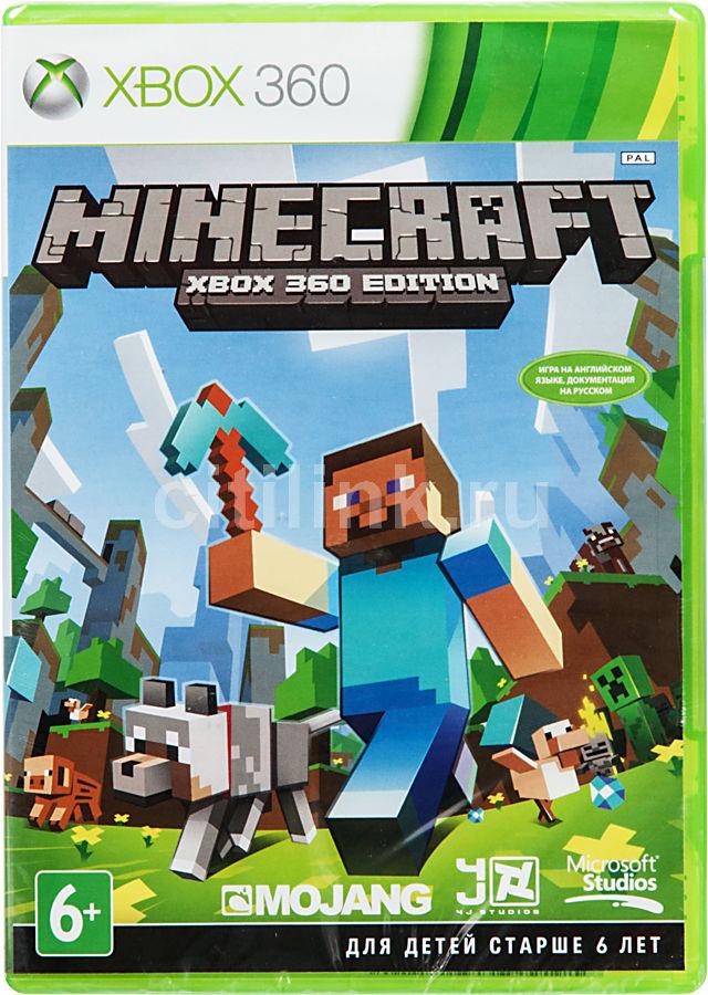 Игра MICROSOFT Minecraft для  Xbox360 Eng