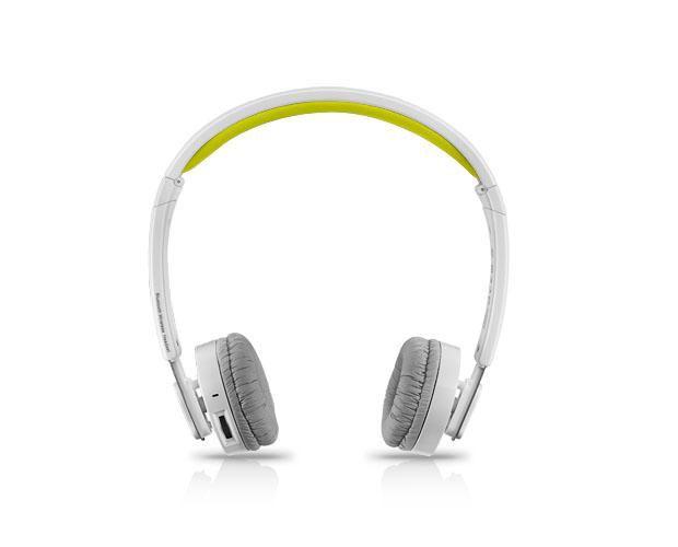 Наушники с микрофоном RAPOO H6080,  накладные, bluetooth,  желтый  [12065]
