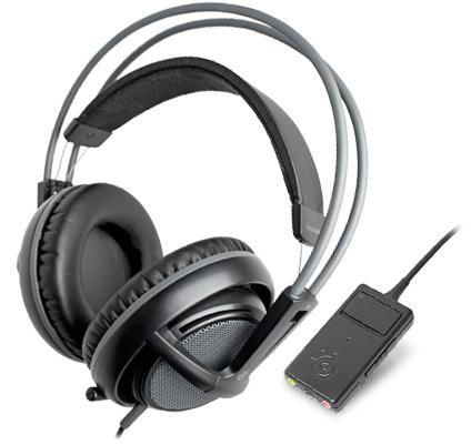 Наушники с микрофоном STEELSERIES Siberia PS3 61266,  мониторы, черный