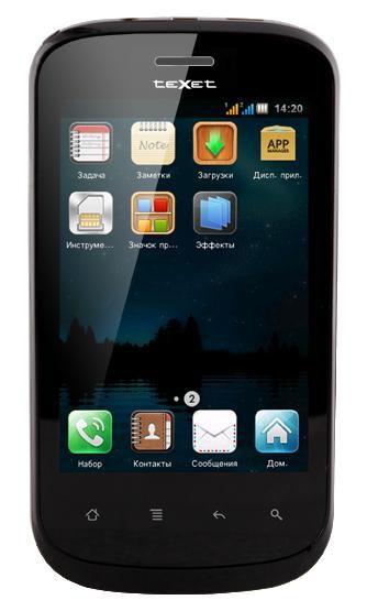 Мобильный телефон TEXET TM-607TV  черный