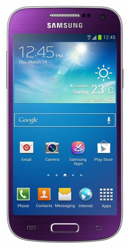 Смартфон SAMSUNG Galaxy S4 mini GT-I9190  пурпурный