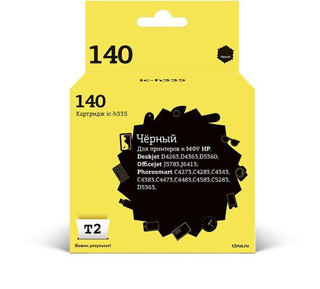 Картридж T2 CB335HE 140 IC-H335,  черный