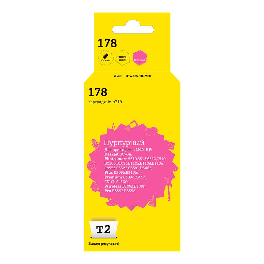 Картридж T2 CB319HE 178 пурпурный [ic-h319]