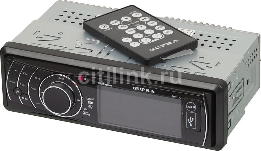 Автомагнитола SUPRA SFD-112U,  USB,  SD/MMC