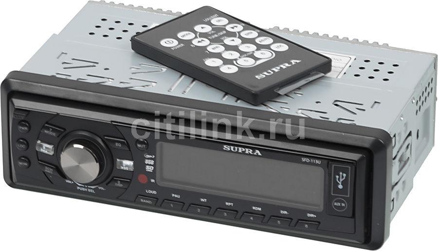 Автомагнитола SUPRA SFD-113U,  USB,  SD/MMC